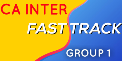 CA Inter Fast Track Group 1 - JK Shah