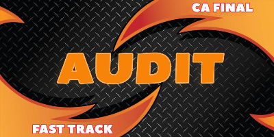 CA Final Audit Fast Track - JK Shah Online