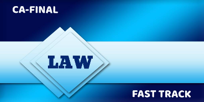 CA Final Fast Track Law Package - JK Shah Online