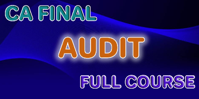 CA Final Audit Full Course - JK Shah Online