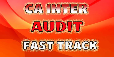 CA Inter Auditing - JK Shah