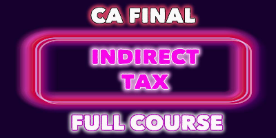 Indirect Tax- JK Shah Online