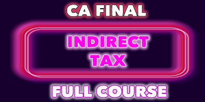 CA Final Indirect Tax Full Course | JK Shah Online
