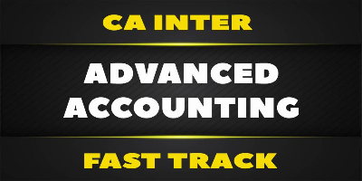 CA Inter Advanced Accounting Fast Track - Jk Shah Online