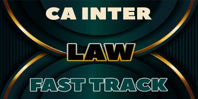 CA Inter Law Fast Track | JK Shah Online