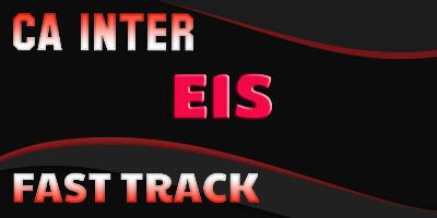 Ca Inter EIS Fast Track - JK Shah Online