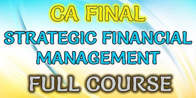 Strategic Financial Management Package - JK Shah Online