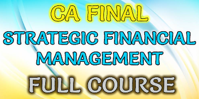CA Final SFM Full Course | JK Shah Online