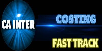 CA Inter Exam   Costing Fast Track - JK Shah Online