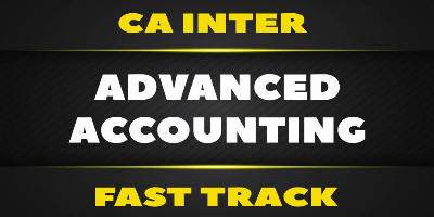 CA Inter Fast Track Advanced Accounting - JK Shah Online
