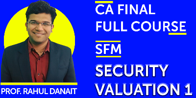 CA Final SFM Full Course - JK Shah Online