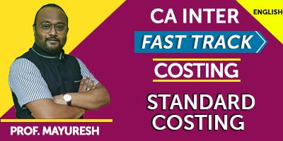 CA Inter Costing Fast Track - JK Shah Online