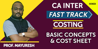 CA Cost & Management Accounting - JK Shah Online
