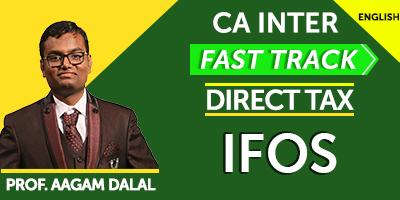 CA Inter Direct Tax Fast Track