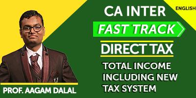 CA Inter Direct Tax Fast Track - JK Shah Online