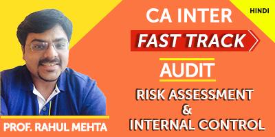 CA Inter Fast Track Audit Risk Assesment & Internal Control  - JK Shah Online