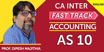 CA Inter Accounting Fast Track For Exams - JK Shah Online