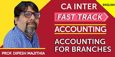 CA Inter Accounting - JK Shah Online