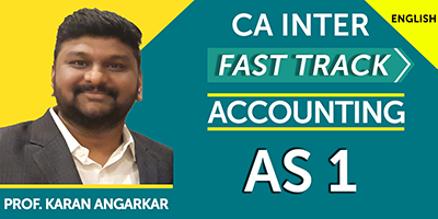 CA Inter Fast Track Accounting AS 1 - JK Shah Online