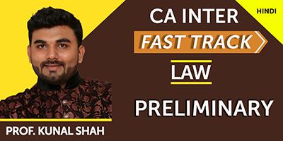 CA Inter Fast Track Law Online - JK Shah Online