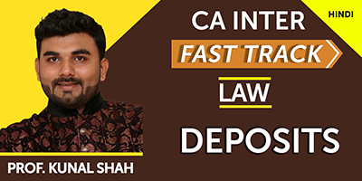 Acceptance of Deposits by Companies (Fast Track)