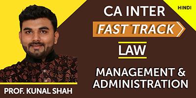 Management & Administration (Fast Track)