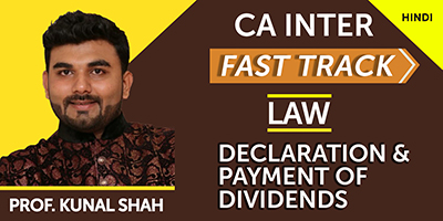 Declaration & Payment of Dividends (Fast Track)