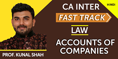 Accounts of Companies (Fast Track)