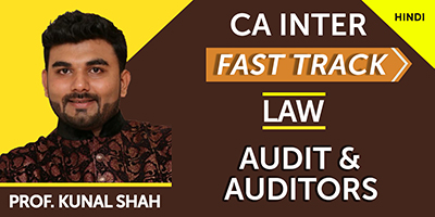 Audit and Auditors (Fast Track)