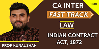 Indian Contract Act, 1872 (Fast Track)