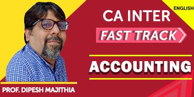 Accounting Subject In CA - JK Shah