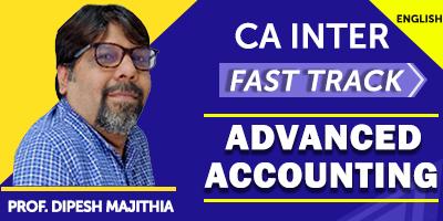 CA Inter Advanced Accounting - JK Shah