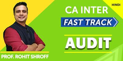 CA Inter Auditing - JK Shah