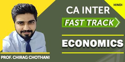 CA Inter Economics Fast Track - JK Shah Online