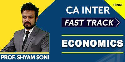 CA Inter Economics Fast Track | JK Shah Online