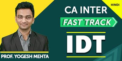 CA Inter Indirect Tax Fast Track | JK Shah Online