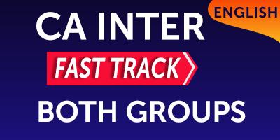 CA Inter Group 1 Subjects - JK Shah