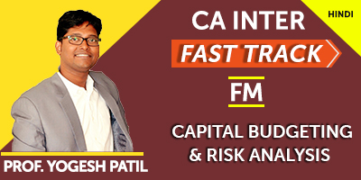 CA Inter Financial Management Fast Track