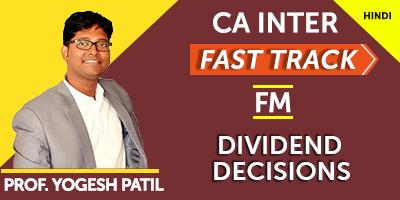 CA Inter Financial Management Fast Track - JK Shah Online