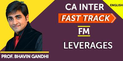 CA Inter Fast Track Financial Management - JK Shah Online