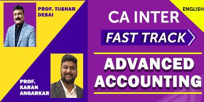 CA Inter Fast Track Advanced Accounting - JK Shah Online