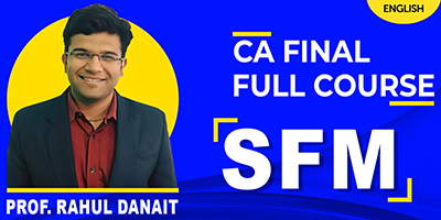 Strategic Financial Management - JK Shah Online