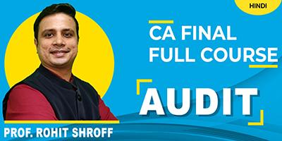 Audit Packages - JK Shah Online