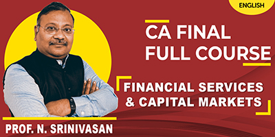 CA Final Full Course | Financial Services & Capital Markets