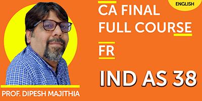 CA Final Full Course Financial Reporting - JK Shah Online