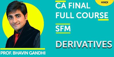 CA Final Full Course Strategic Financial Management Derivatives - JK Shah Online