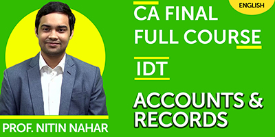 Indirect Tax- JK Shah Online