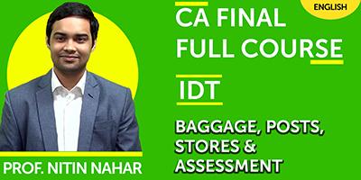 CA Final Indirect Tax Full Course | JK Shah Online