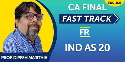 CA Final Financial Reporting Fast Track - JK Shah Online