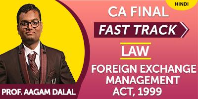 CA Final Law Fast Track - Jk Shah Online